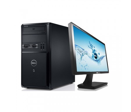 PC DE BUREAU DELL I3 + ECRAN DELL LED 20""
