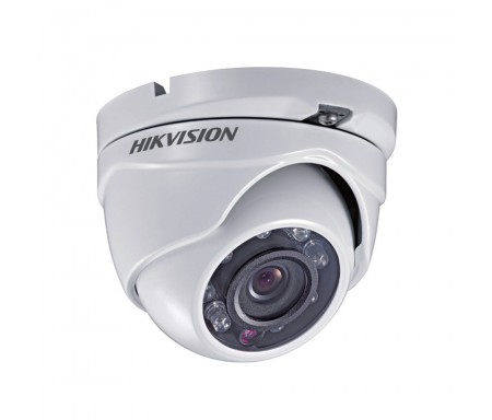 HIKVISION DS-2CE55A2P-IRM Weatherproof IR BNC Dome Camera 700TVL White Or Grey