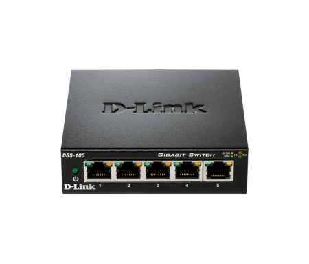 Switch D-LINK DGS-105E - 5 ports 10/100/1000 Mbp