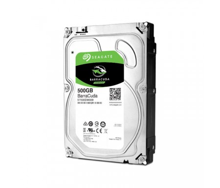 Disque Dur Interne SEAGATE BarraCuda 500Go 3.5""