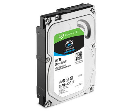 "SEAGATE - Disque dur de surveillance SkyHawk HDD Desktop Guardian 3.5"" 2 TO"