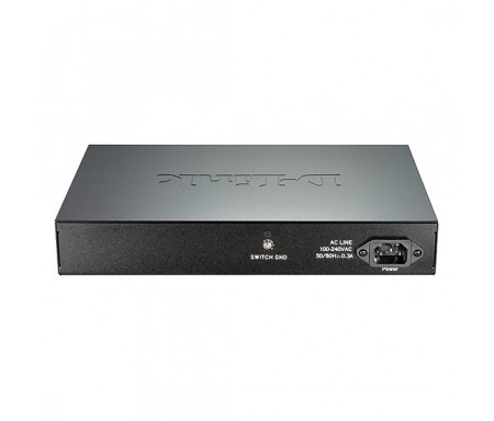 D-Link Switch administrable Gigabit PoE 24 ports 10/100/1000 Mbps